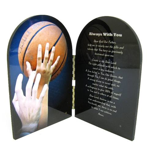 Prayer Plaque Basketball