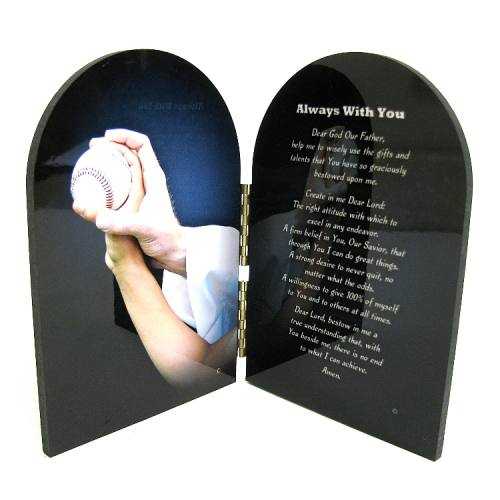 Prayer Plaque Baseball