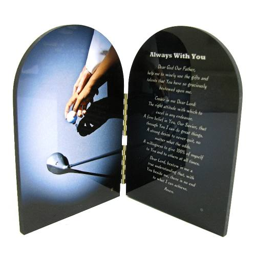 Prayer Plaque Golf