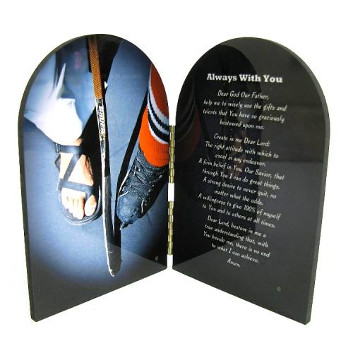 Prayer Plaque Ice Hockey
