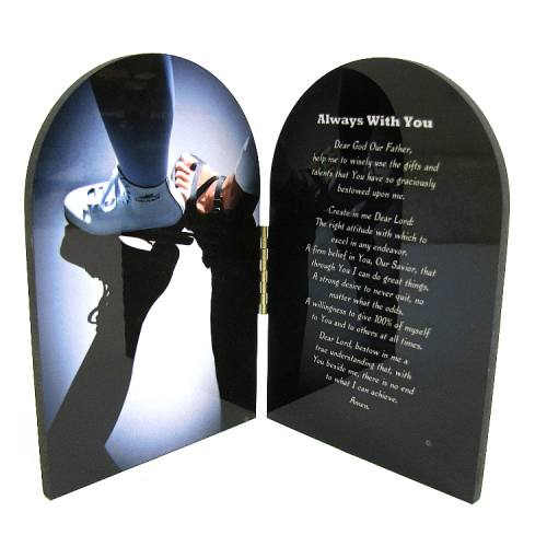 Prayer Plaque Figure Skating