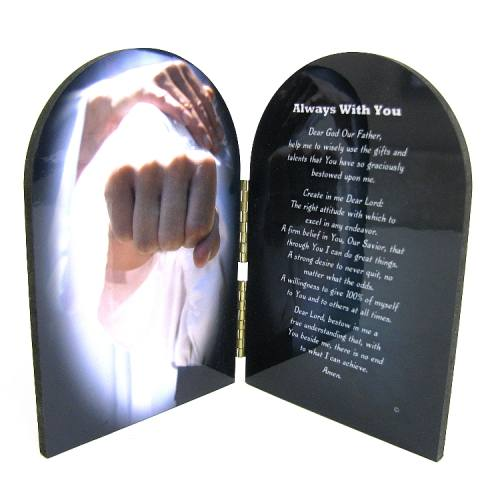 Prayer Plaque Martial Arts / Karate