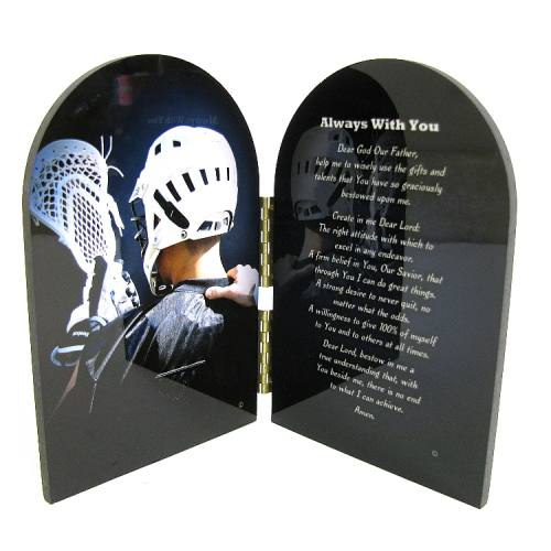 Prayer Plaque Lacrosse