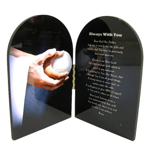 Prayer Plaque Softball