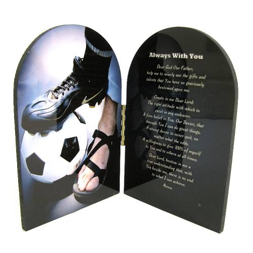 Prayer Plaque Soccer Men / Boy