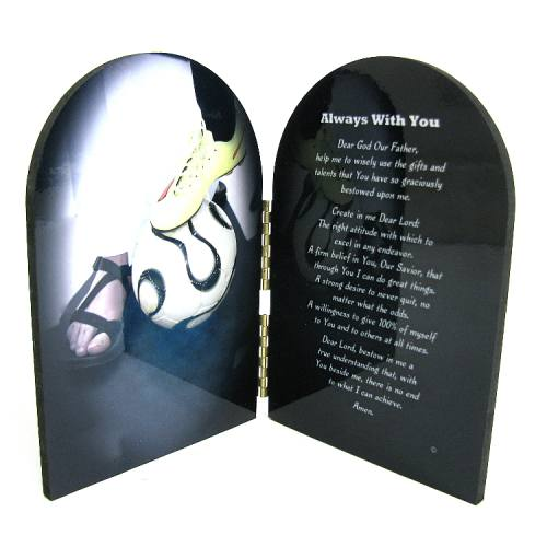 Prayer Plaque Soccer Women / Girl