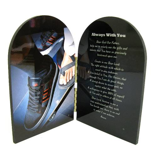 Prayer Plaque Skateboarding