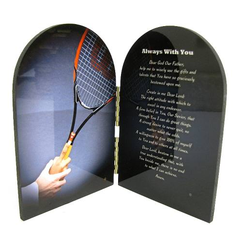 Prayer Plaque Tennis