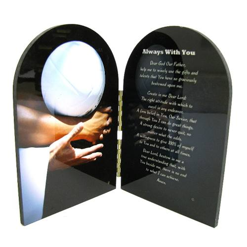 Prayer Plaque Volleyball