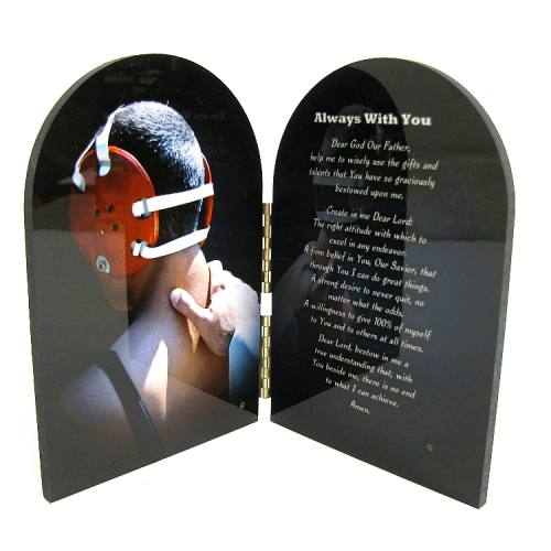 Prayer Plaque Wrestling