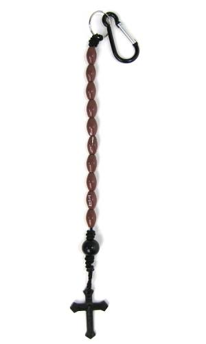 Keychain Decade Rosary Football