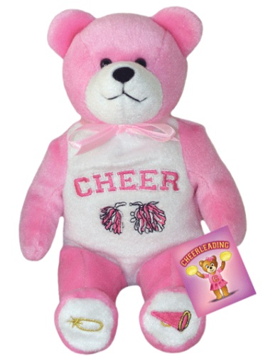 Teddy Bear Cheerleading Holy Bears