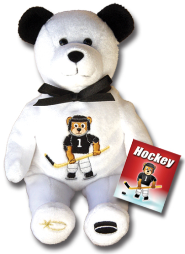 Teddy Bear Ice Hockey Holy Bears