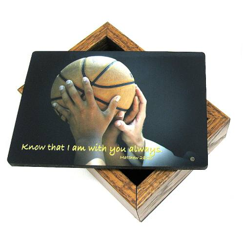 Keepsake Box Basketball