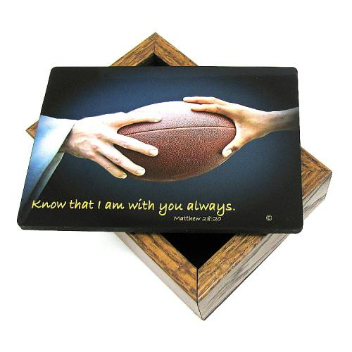 Keepsake Box Football
