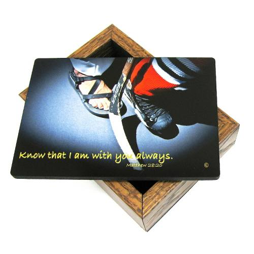 Keepsake Box Ice Hockey