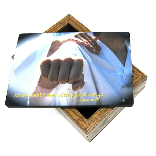 Keepsake Box Martial Arts / Karate