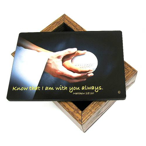 Keepsake Box Softball