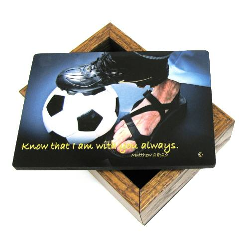 Keepsake Box Soccer Men / Boy