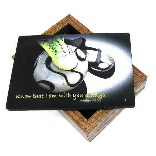 Keepsake Box Soccer Women / Girl