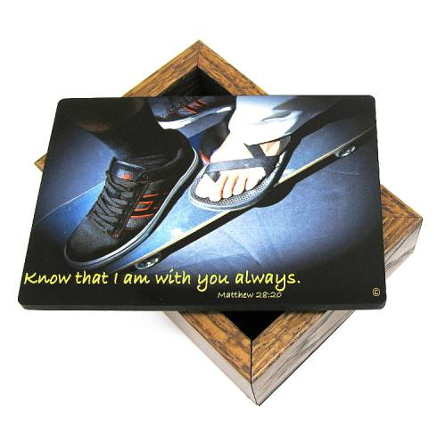 Keepsake Box Skateboarding