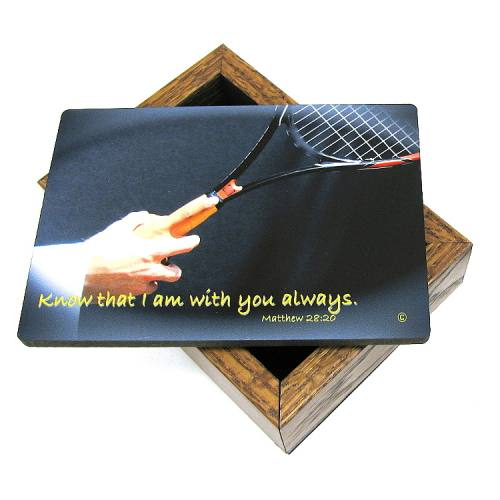 Keepsake Box Tennis