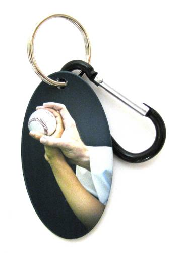 Zipper Pull Tag Baseball