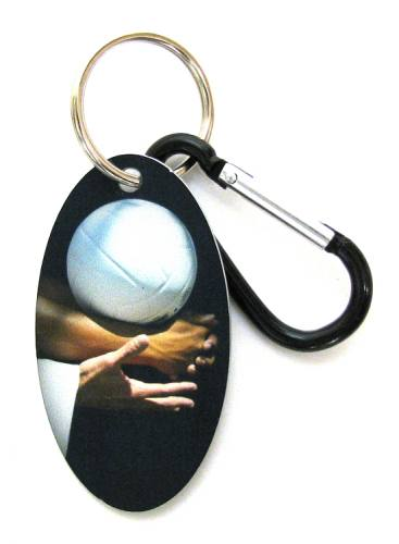 Zipper Pull Tag Volleyball