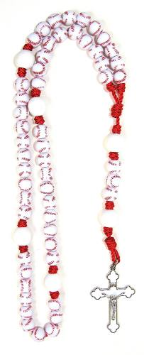 Rosary Sports Bead Baseball